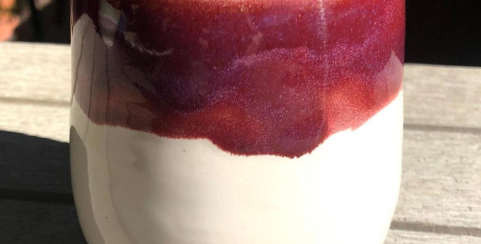 Merlot Rose Wine Tumbler