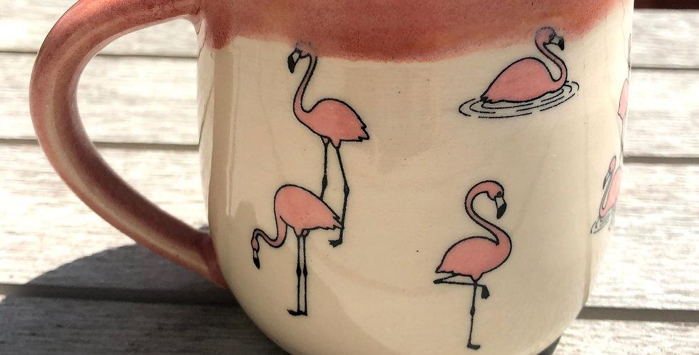 Flamingo Mingle Mug