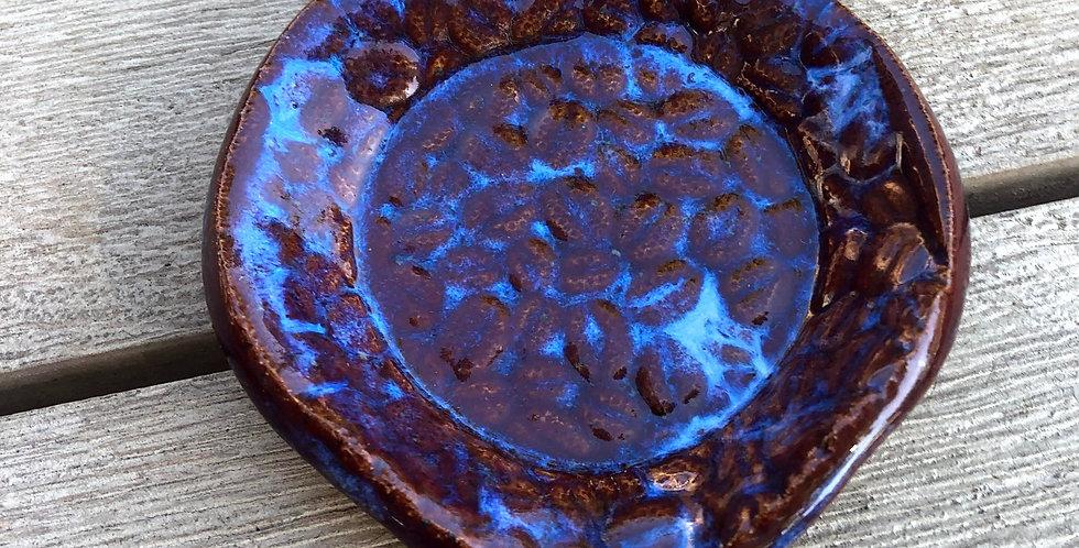 Glowing Blue Coffee Bean Spoon Rest
