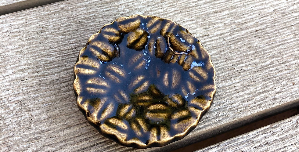 Amber Ring Dish