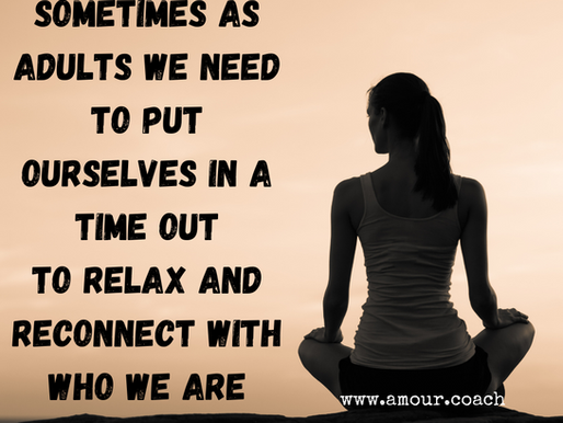 When did you last have a time out?