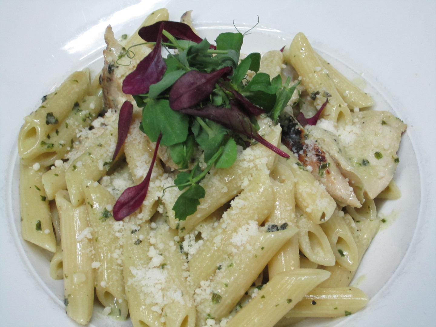 Pesto Chicken Penne