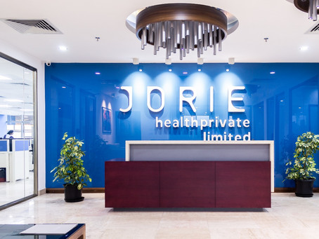 Jorie Healthcare Private Limited Opens new Service Delivery Center in India.