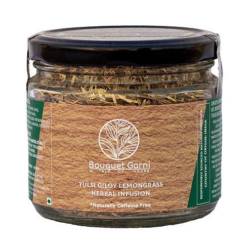 Tulsi Giloy Lemongrass Herbal Infusion