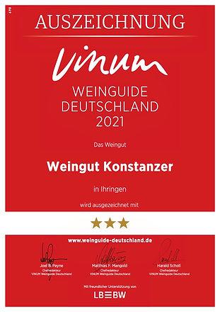 Urkunden Vinum für Urkundenversand 1020