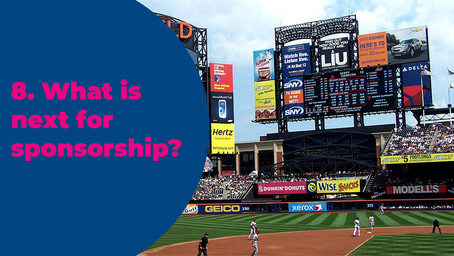 8. What is next for sponsorship?