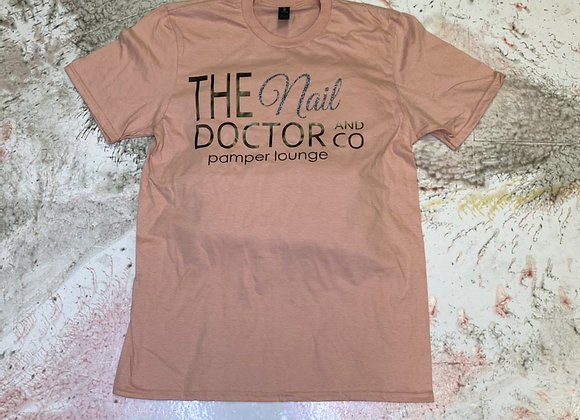 The Nail Doctor Signature Lightweight Ladies Tee