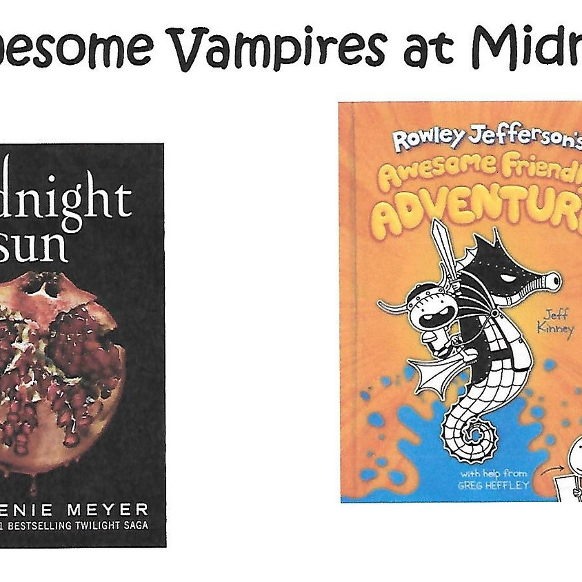 Awesome Vampires at Midnight