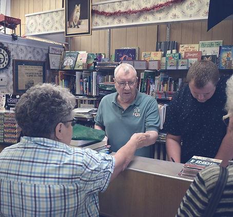 The Sly Fox Local Bookstore Virden IL