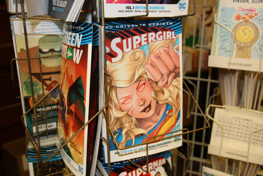 The Slyf Fox Independent Books Store Comics Virden IL