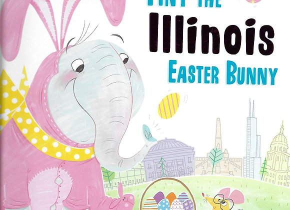 Tiny the Illinois Easter Bunny