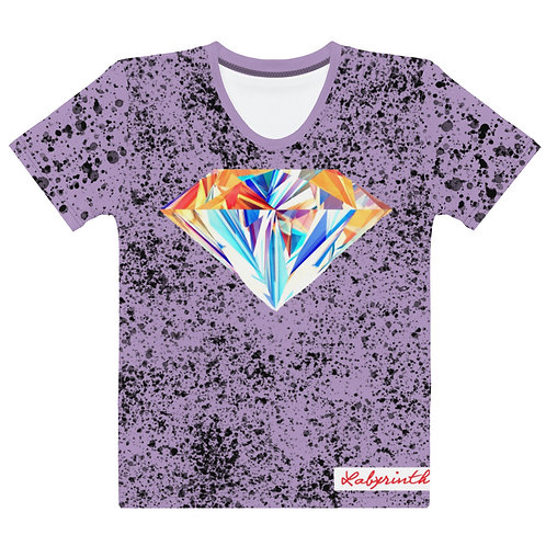 RTG Series 2: The Labyrinth Women's Graphic Tee (Lavender)