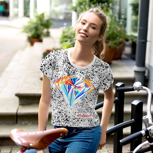 RTG Series 2: The Labyrinth Women Graphic Crop Top