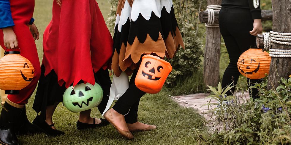 Atelier Halloween - Sac à bonbon (Enfants de 5 à 8 ans)