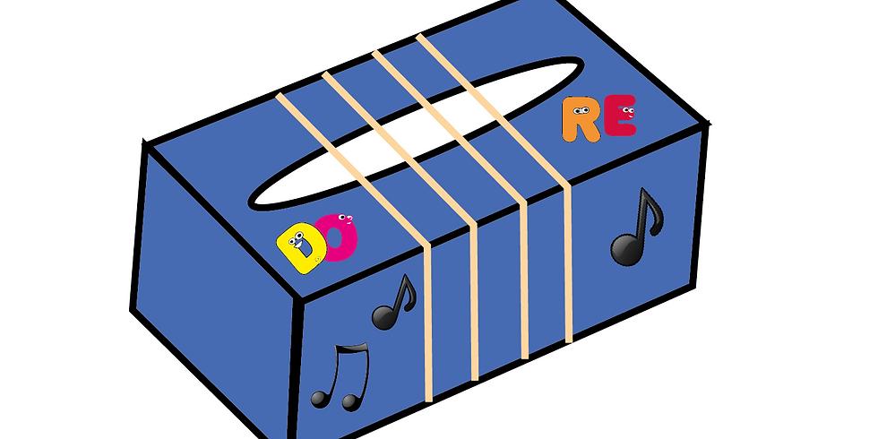 Atelier Brico - Boîte à musique (Enfants de 8 à 12 ans)
