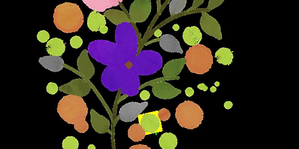 Atelier fleurs créatives à l'aquarelle (Adultes et adolescents)