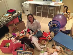 On Location: Preparing for Santa -  Organizing Toy Chaos