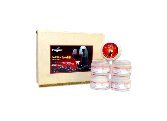 Kayna Red Wine Facial Kit