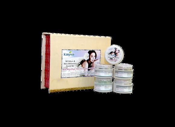 Kayna 92 Silver & Skin Whitening Facial Kit