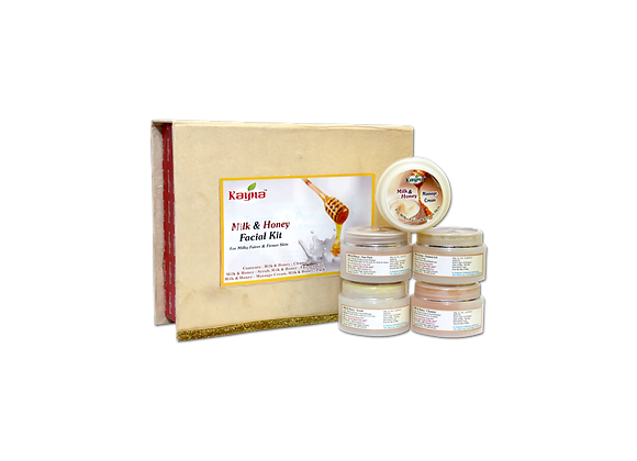Kayna Milk & Honey Facial Kit