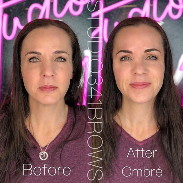 """My """"Demi Moore eyes"""" client! 😲😍It's am"""