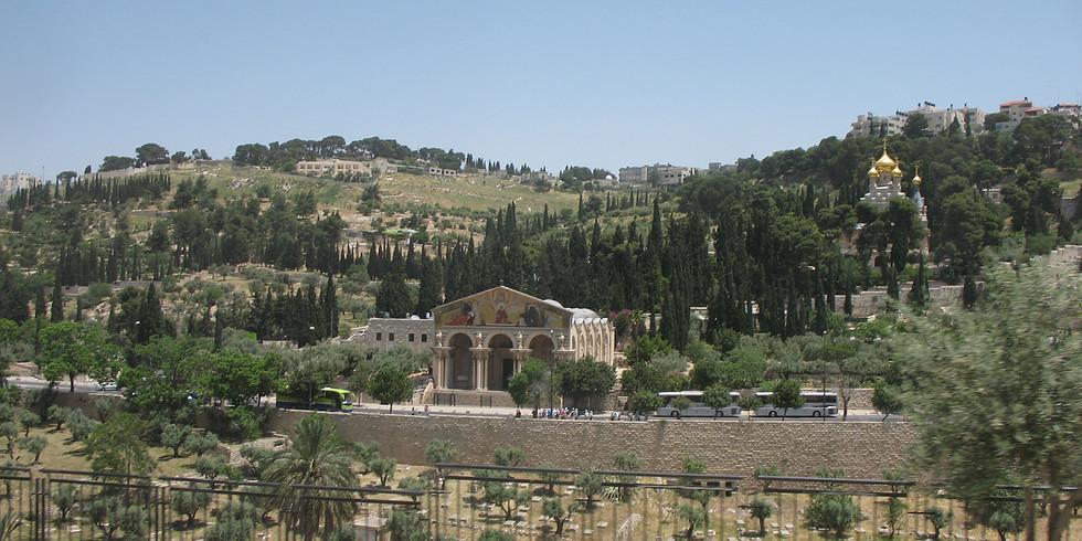 מעל פסגת הר הזיתים
