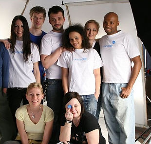 Unicef photoshooting