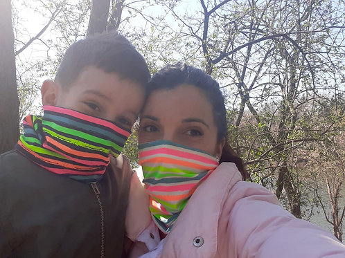 DUHA_detsky multimask / kid 's multimask, 95% bavlna+5% elastan
