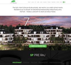 Nová Koliba Residence_website