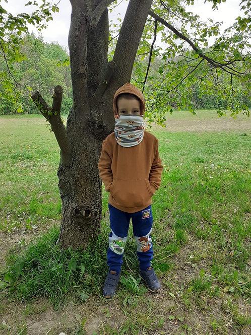 PSIK_detsky multimask /kid 's multimask, 95% bavlna, 5% elastan