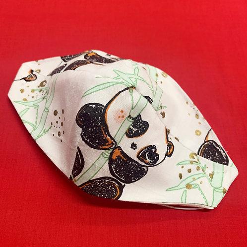 PANDA_detske OR /kid's face protection, 100% bavlna