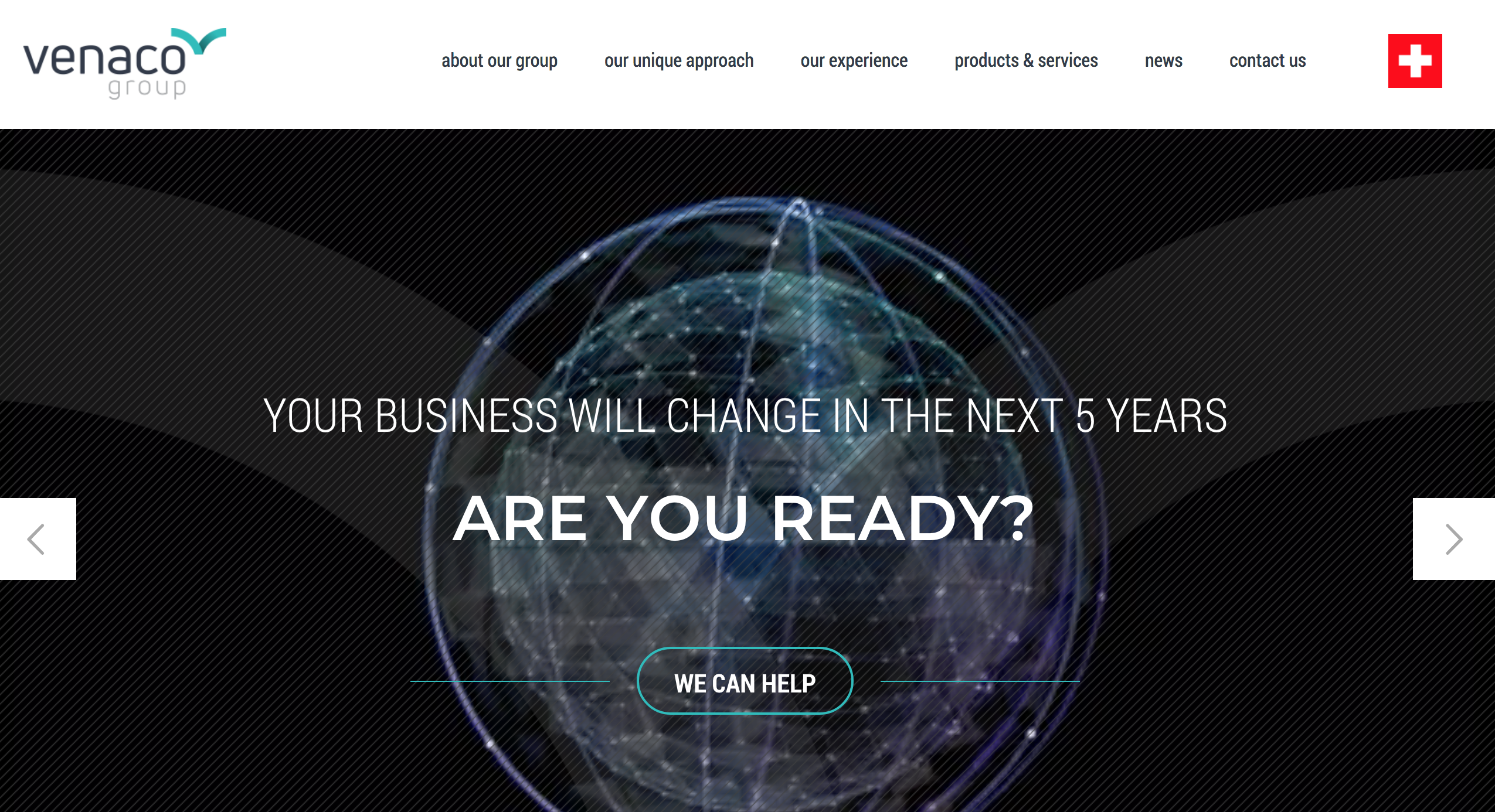 Venaco group_website