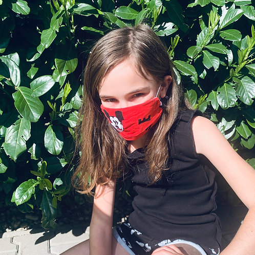 MICKEY_R_detske OR /face protection, 95% bavlna+5% elastan