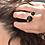 Thumbnail: BONES DOUBLE BLACK ONYX RING/GOLD