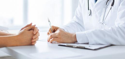 Médico y paciente