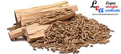 legna da ardere e pellets