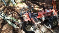 trattore forestale