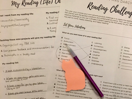 2021 Reading Intentions: First Reading Challenge and Plans for Babble of the Books
