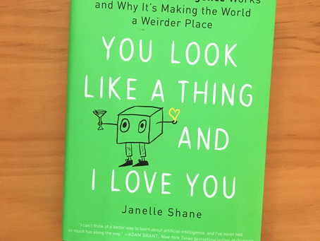 Wordy Wednesday: You Look Like a Thing and I Love You by Janelle Shane