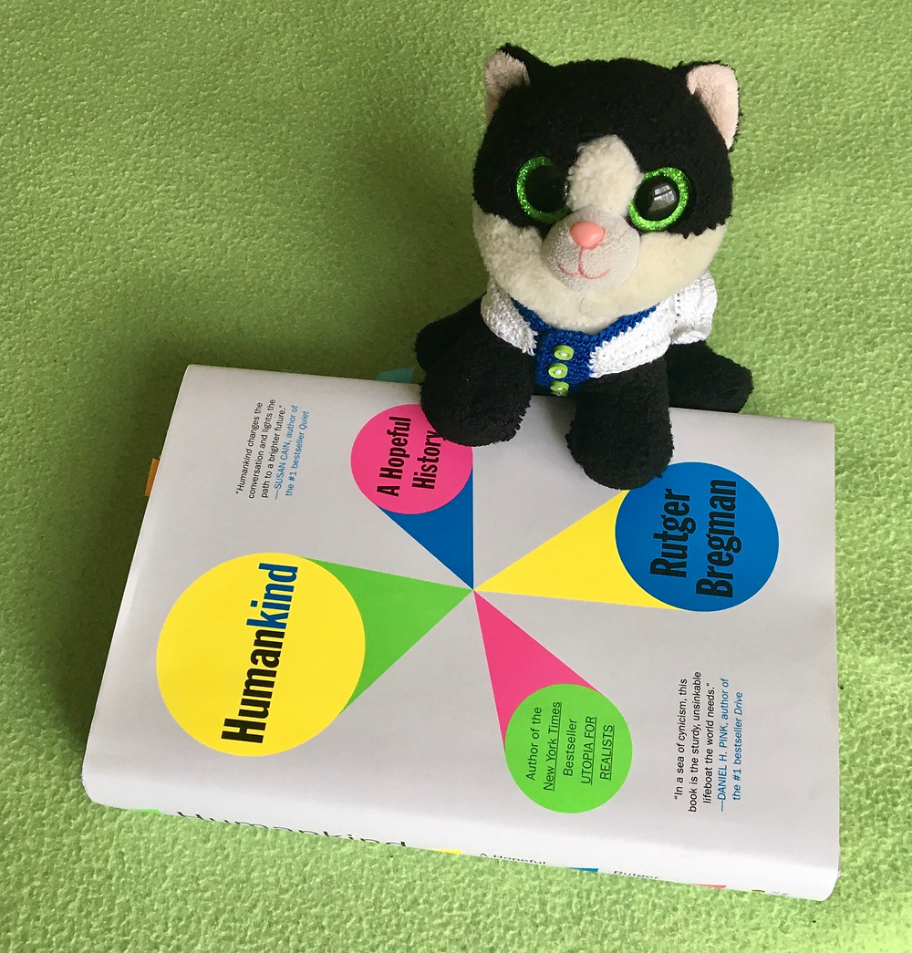 Ava Beanie Boo Ty Cat and Humankind book by Rutger Bregman