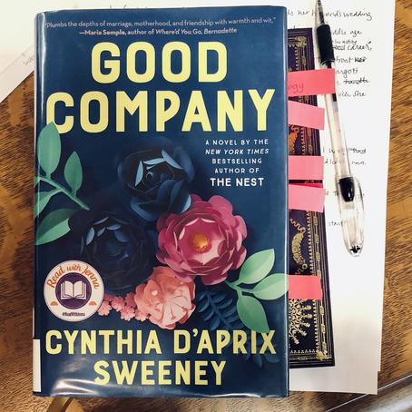Wordy Wednesday: Good Company by Cynthia D'Aprix Sweeney