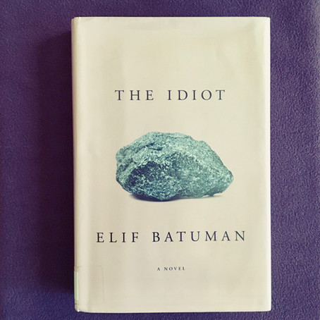 Wordy Wednesday: The Idiot by Elif Batuman