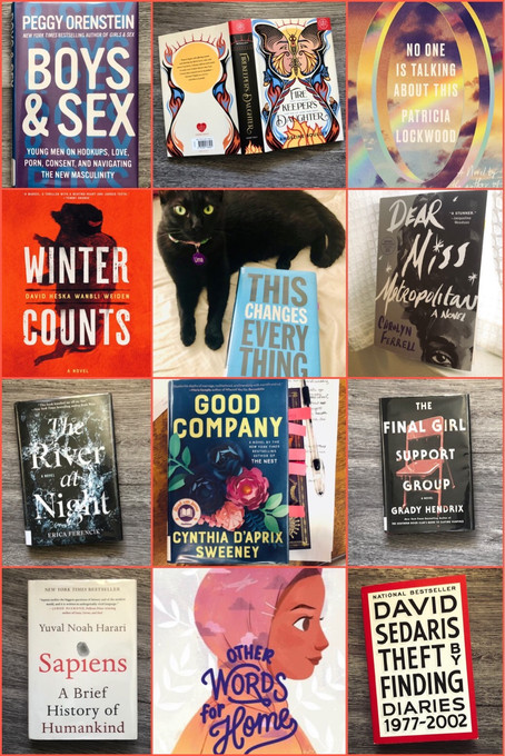 July Reading Recap: Hot Reads and Hot Takes