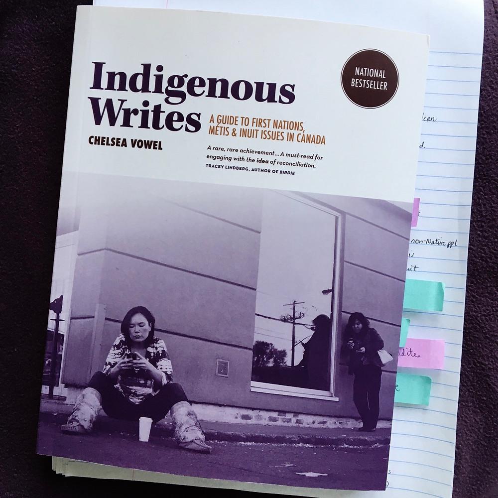 Indigenous Writes by Chelsea Vowel