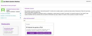 El portal www.miseguridadsocial.gov.co una vez el usuario se encuentre autenticado, contará con la opción de Búsqueda Rápida a través de la cual, podrá ingresar un termino para ser consultado y el sistema, traerá en línea las opciones asociadas a la consulta.