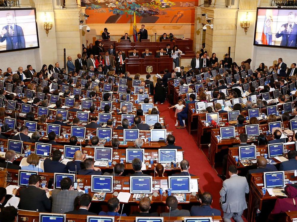 Los congresistas empezaran a devengar el nuevo salario decretado por el gobierno nacional a partir del primero de enero de 2021