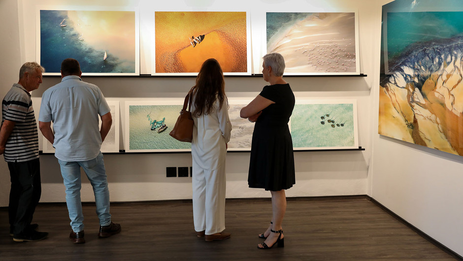 Outdoorphoto Aerial Art Exhibition & Book Signing