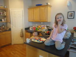 Kids enjoying a treat