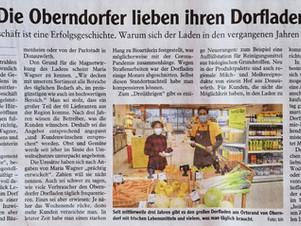 Die Oberndorfer lieben ihren Dorfladen