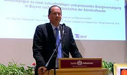 Prof. Dr. Christian von Hirschhausen kommt nach Schweinspoint